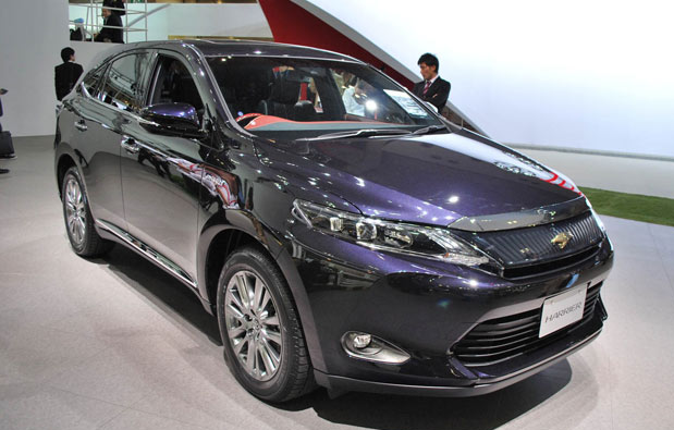 2016 Toyota Harrier Specs