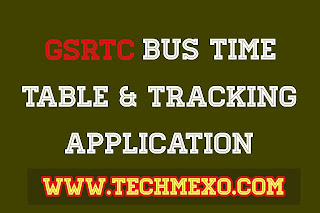 GSRTC BUS TIME TABLE & TRACKING APP