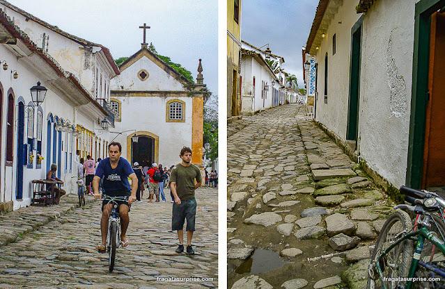 Bicicletas em Paraty