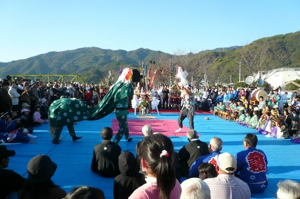 Ino Daikokusama at Sugimoto Jinja Shrine, Ino Town, Kochi Pref.