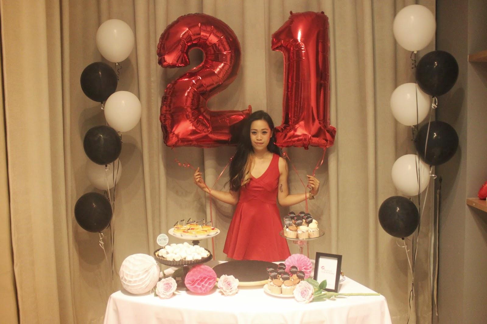 21st Birthday Celebration Part 1 Set Up