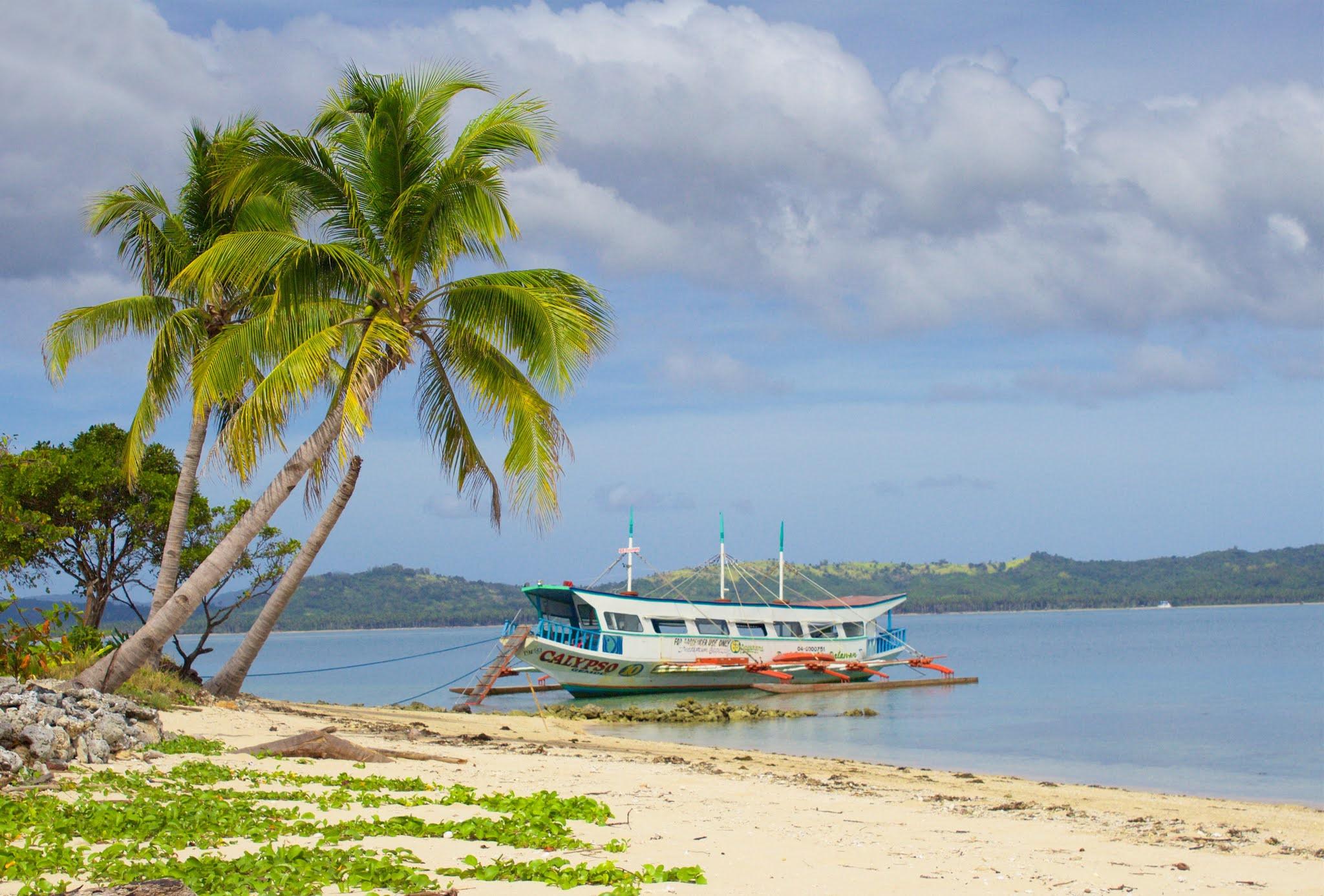 Залив Хонда на Палаван, Филиппины