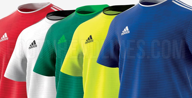 89c05390a01a Adidas Condivo 18 World Cup Kit Template Released