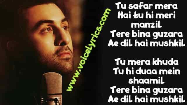 Ae Dil Hai Mushkil Lyrics for quotes