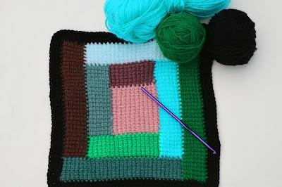 6 - Crochet Imagen Colcha de restos de lana a crochet y ganchillo por Majovel Crochet