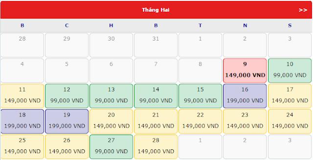 Giá Vé máy bay đi Huế rẻ nhất tháng 2