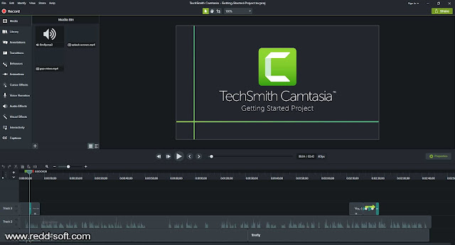 Camtasia Studio 2019 Full Version + Crack Free Download - ReddSoft