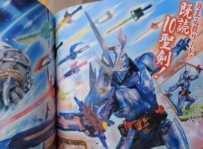 Kamen Rider Saber - Cross Saber Form Information