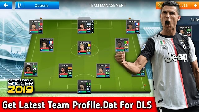 Profile.dat | Save Game Data | Dream League Soccer 2019