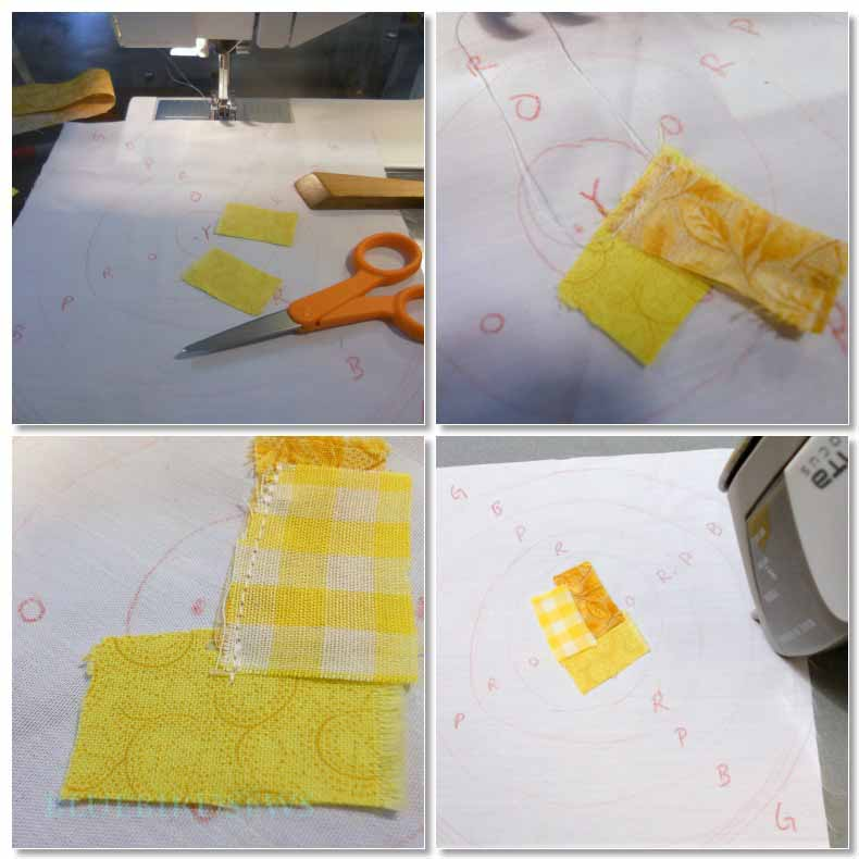 Scrappy Quilted Pot Holder Tutorial