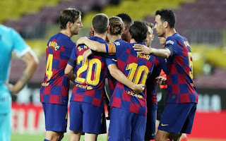 Top 6 teams Barcelona could face in UCL group stage next season. Bayern or Liverpool possible revenge