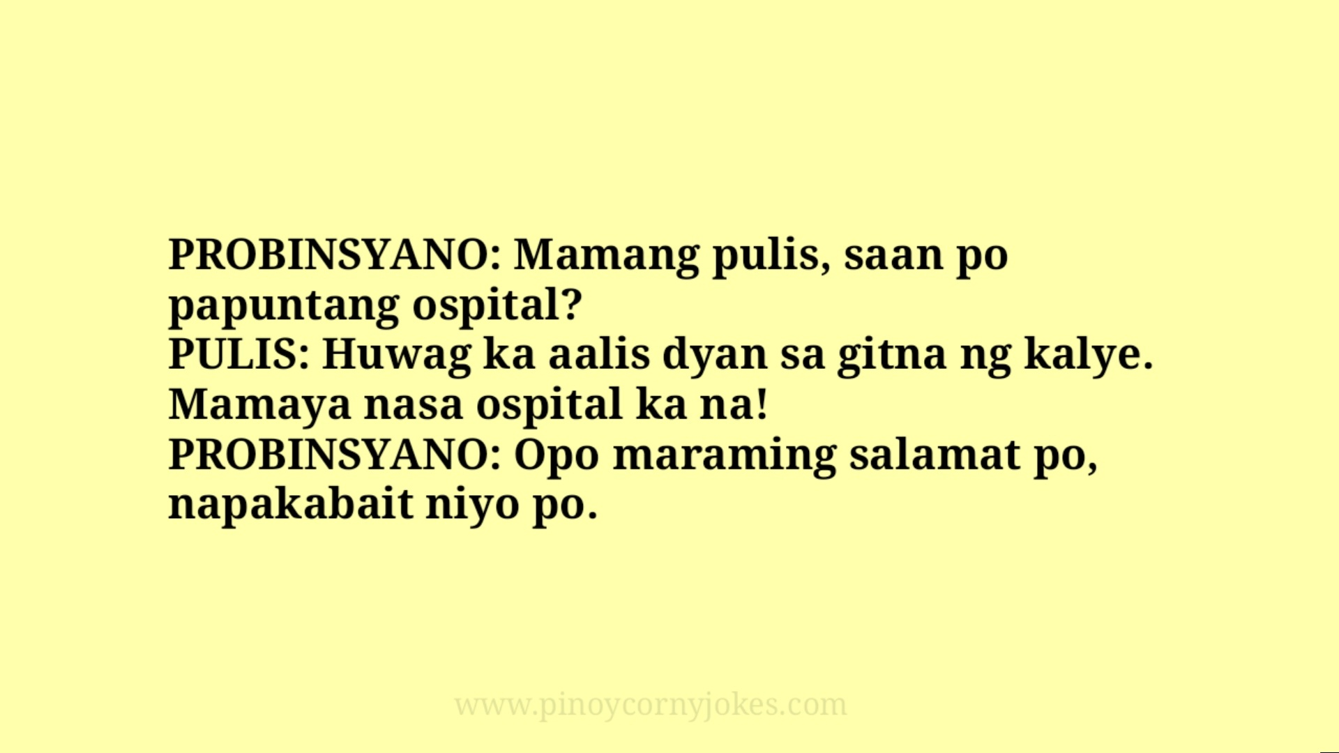 probinsyano pinoy jokes 2021