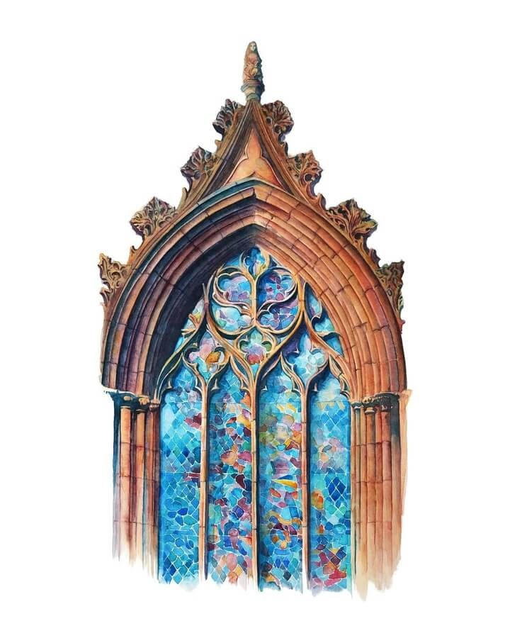 07-Gothic-stained-window-Sarah-Quarelle-www-designstack-co