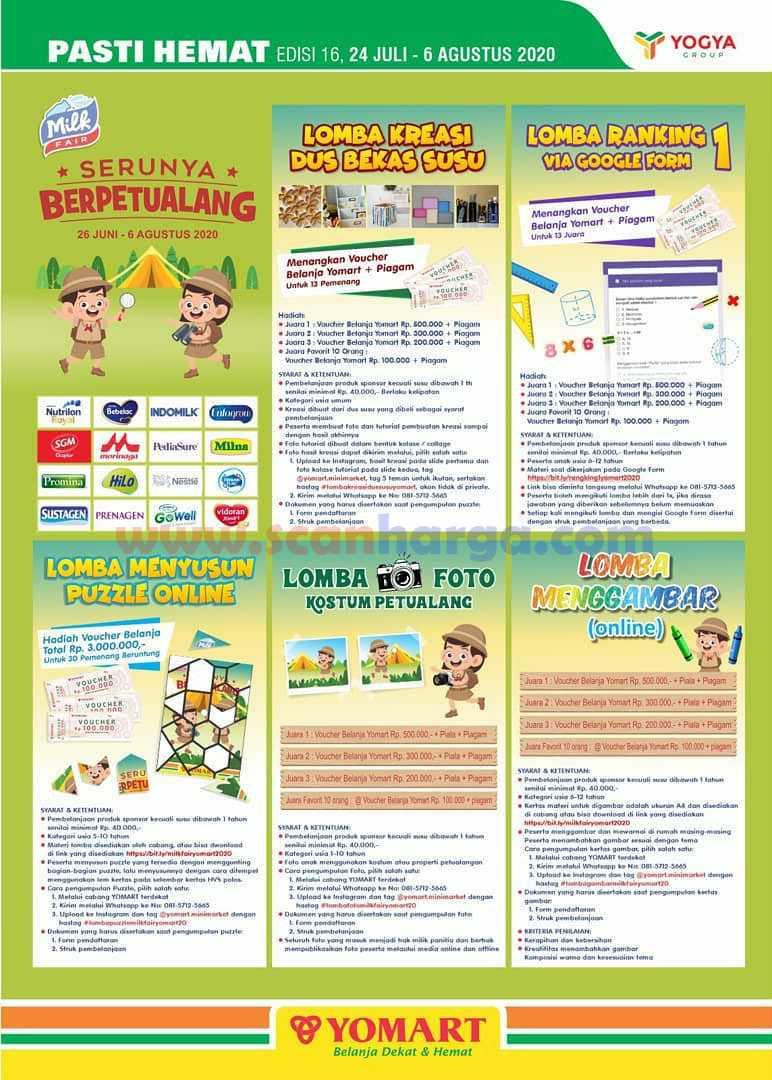 Promo Katalog Yomart Terbaru 24 Juli - 6 Agustus 2020 5