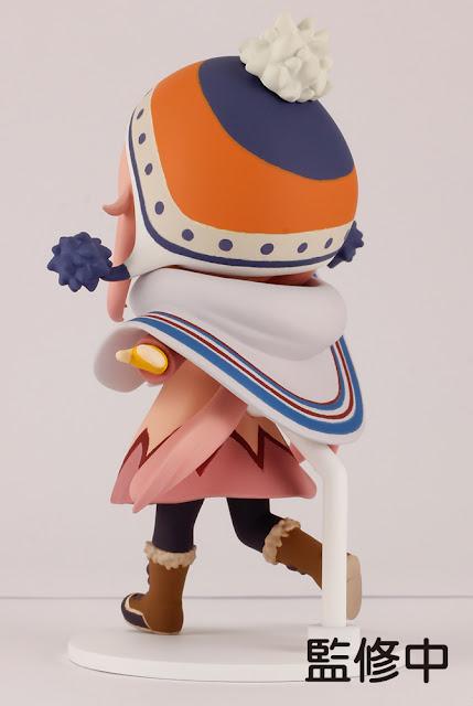 Figuras: Doble figura mini de Kagamihara Nadeshiko de Yuru Camp - Plum