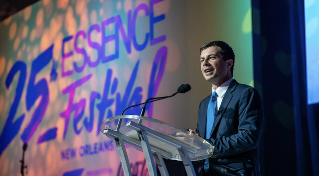 Pete Buttigieg Uses Essence Festival to Start His Rehab With Black Voters