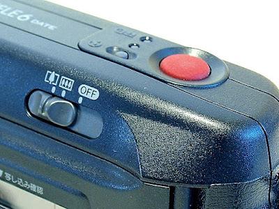 Canon Autoboy Tele 6, Power slider switch