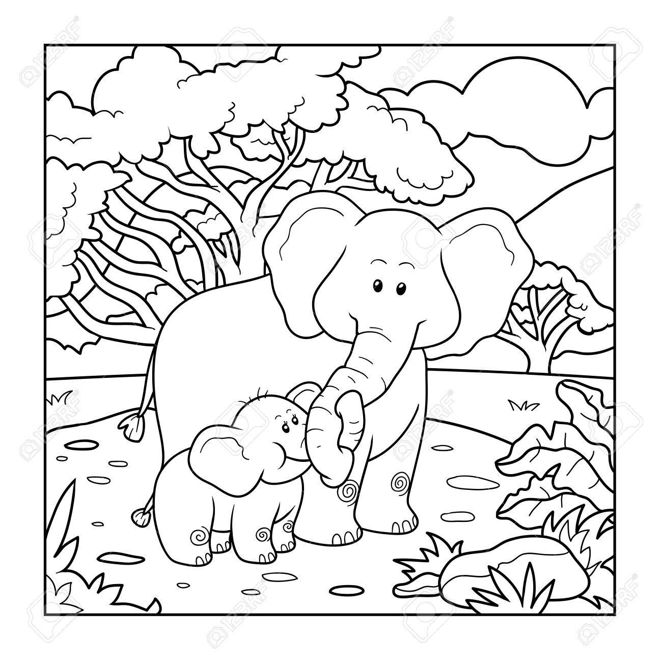çocuk Ve Hayvan Resimleri Boyama Sayfaları çocuklar Için Boyama