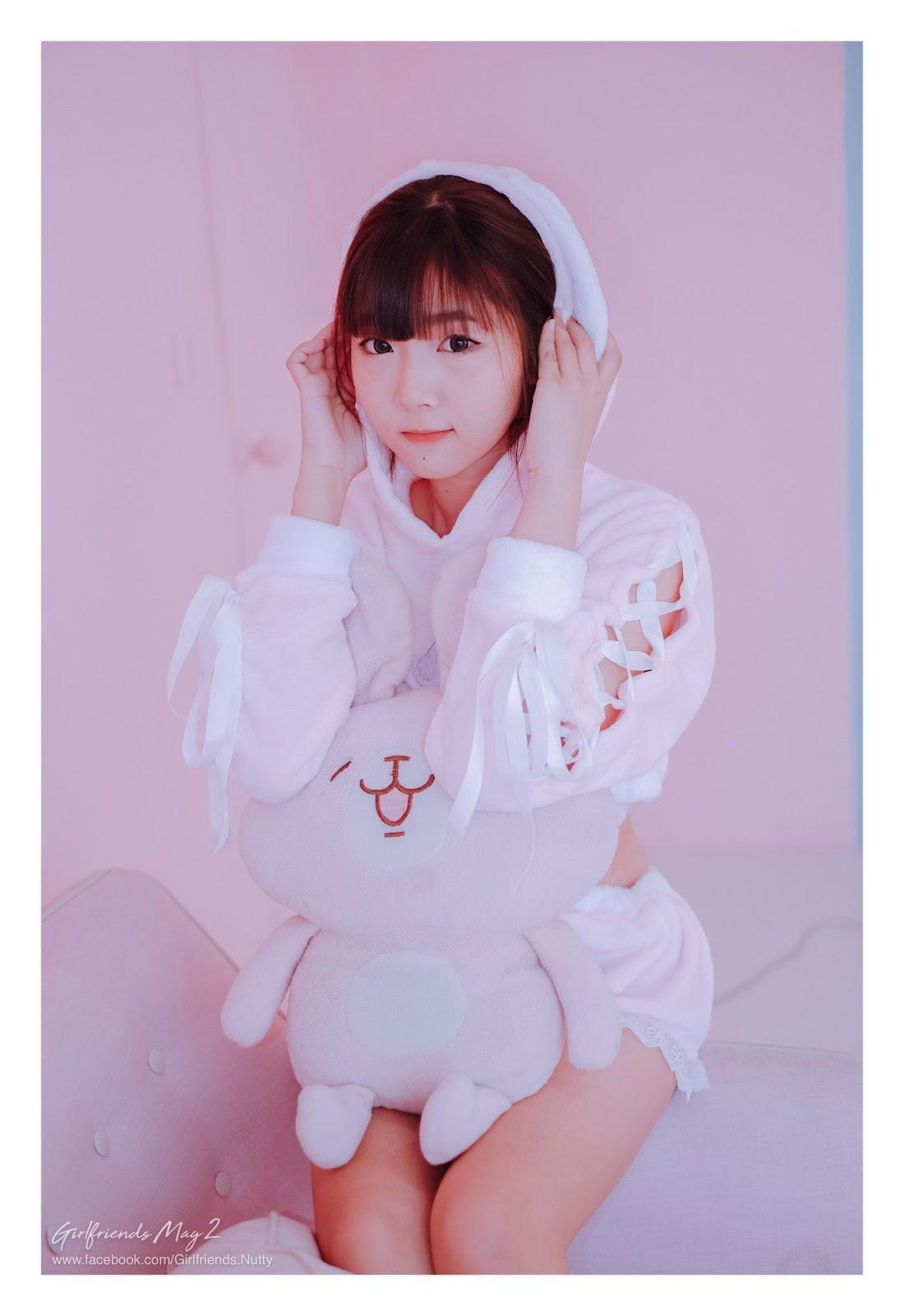 Image Thailand Model - Pakkhagee Arkornpattanakul - Pink Bunny - TruePic.net - Picture-3