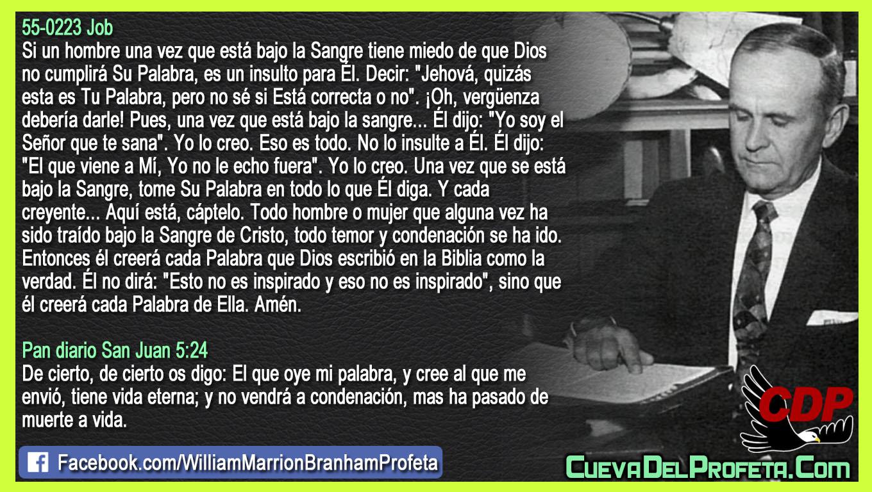 Todo temor y condenación se ha ido - William Branham en Español