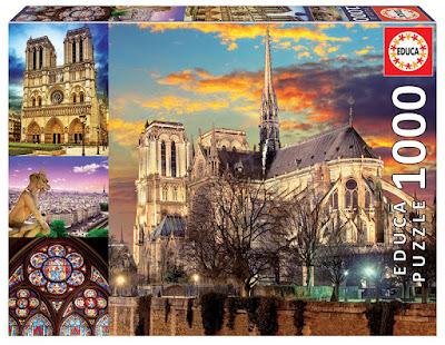 Puzzle 1000 educa 18456 Notre Dame