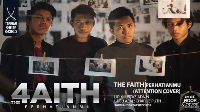Lirik The Faith - Perhatianmu (Attention Cover)