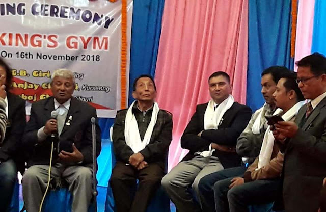 Ganu Giri in Kings Gym opening in Mungpoo Main Road