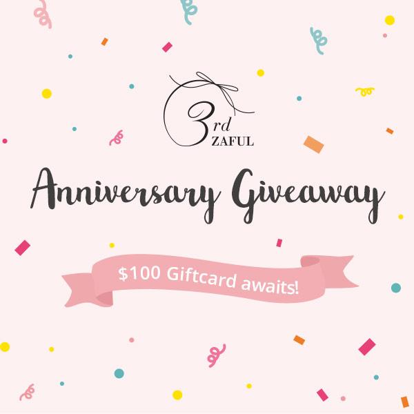 Zaful Anniversary Giveaway