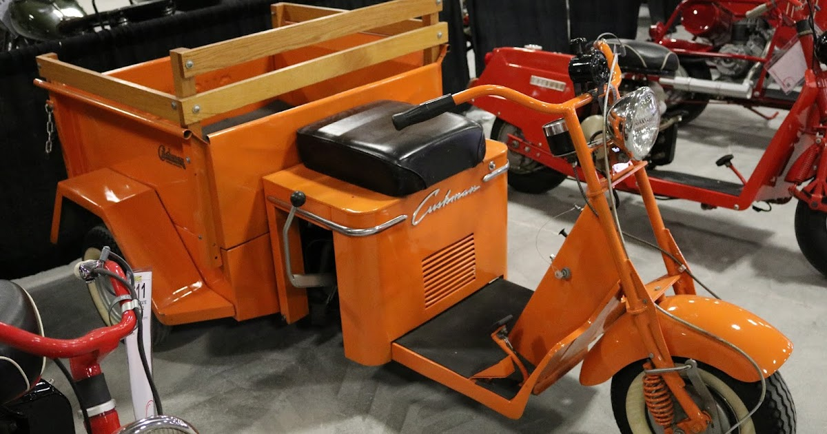 Oldmotodude 1955 Cushman Truckster Sold For 5 250 At The