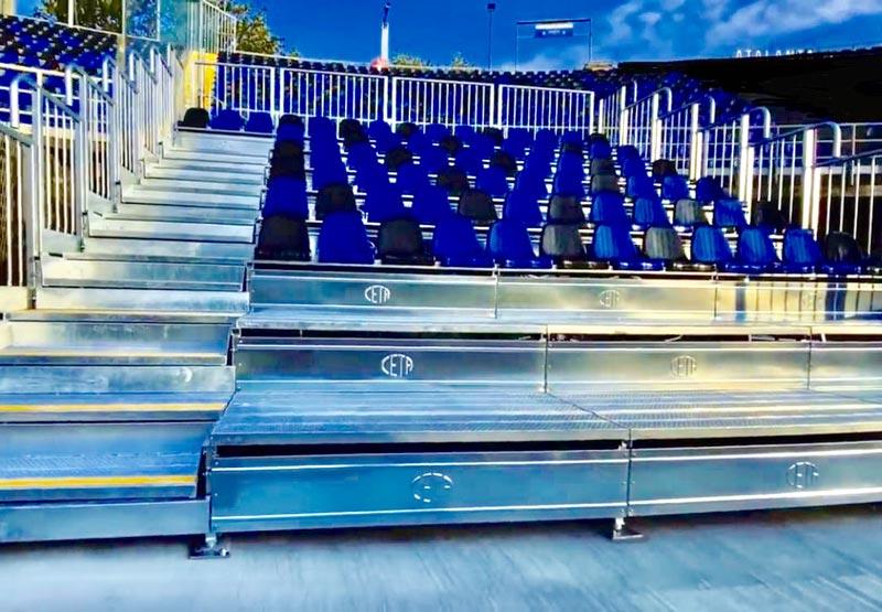 tribune prefabbricate Gewiss Stadium