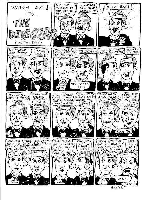 Sketchbook - The Directors (The Two Dons) Cartoon