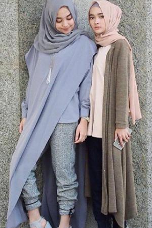 Trend Baju Muslim 2017 Untuk Remaja dan Dewasa Modis