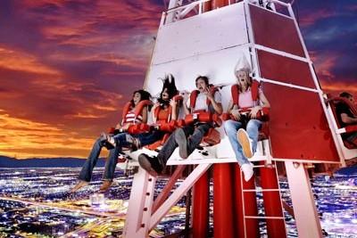 Stratosphere Las Vegas Bug Shot Elevador