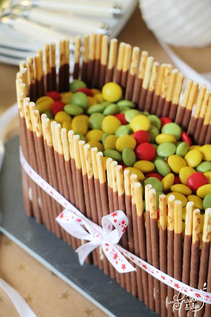 Layer Cake d'Anniversaire super facile Gâteau d'anniversaire rapide et facile Gâteau 8 ans Blog Recette Degustabox Juin 2019 Ker Cadélac Quatre quarts