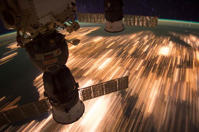 Вогні міст із космосу