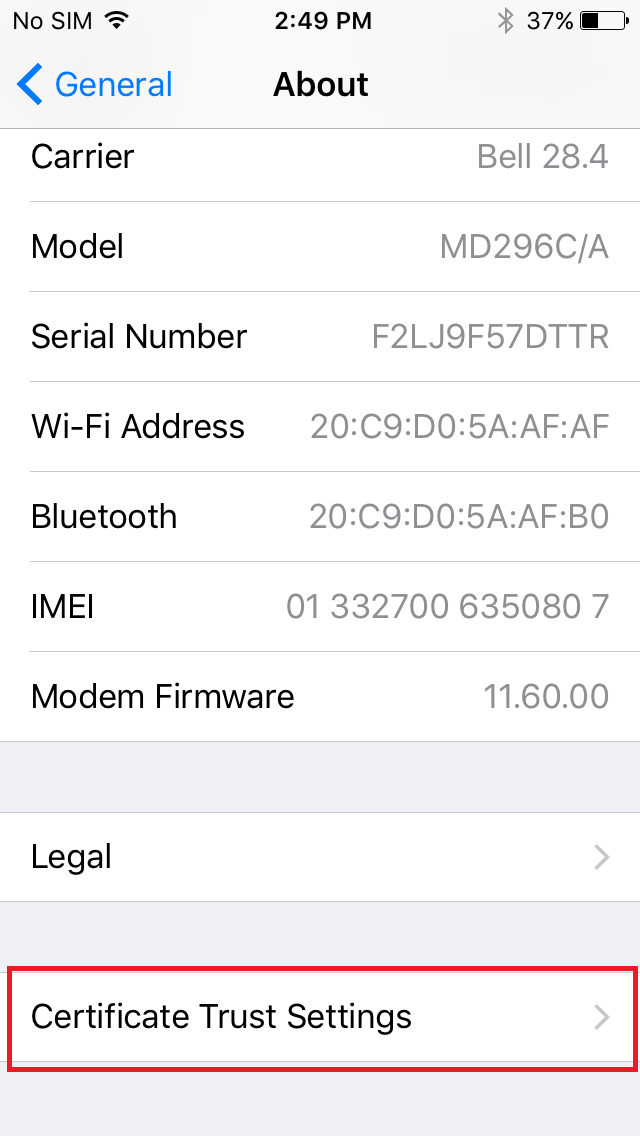 Charles Proxy Testing Tool How To Install Ssl Certificate On Ios