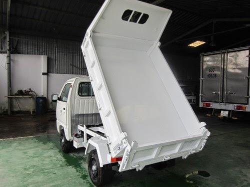 suzuki super carry Truck thùng ben tự đổ