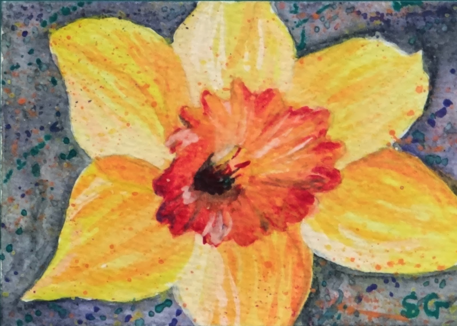 http://folksy.com/items/5328481-Daffodil-Painting-ACEO-