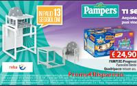 Logo Pampers : vinci 13 seggioloni 2 in 1 Roba