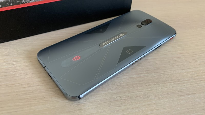 Smartphone review Red Magic 5s - stylish flagship with a gaming accent