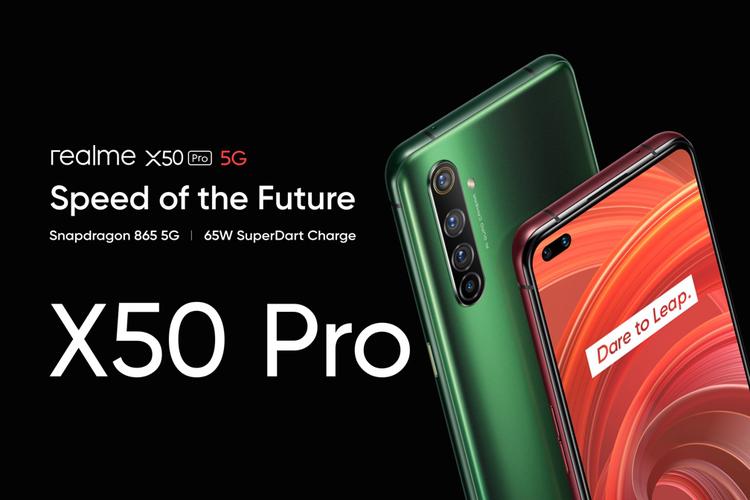 Realme X50 Pro! 5G Telah Hadir di Indonesia