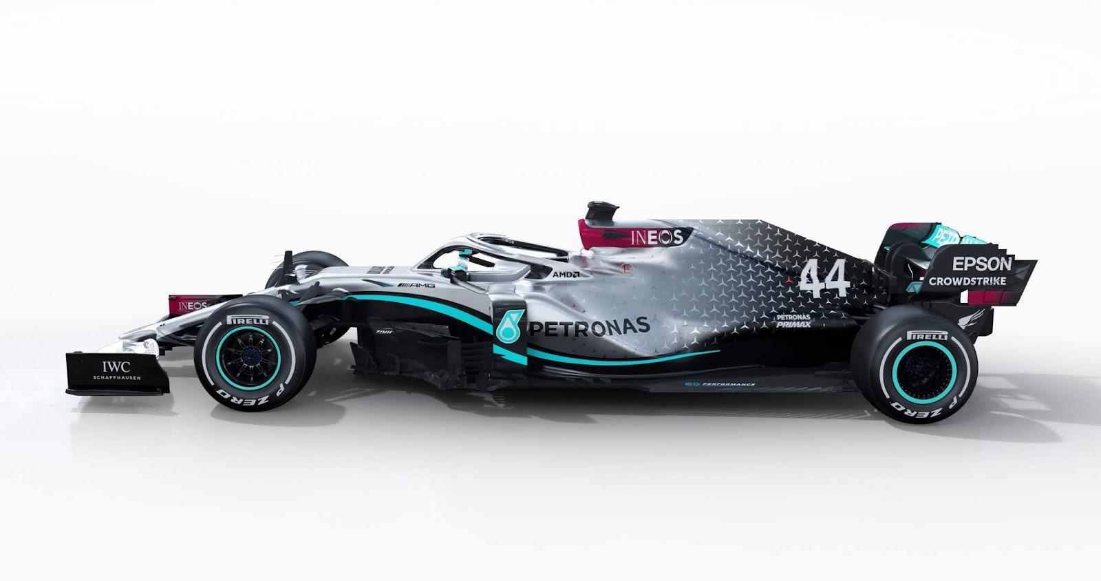 El Mercedes-AMG F1 W11 EQ Performance completó sus ...