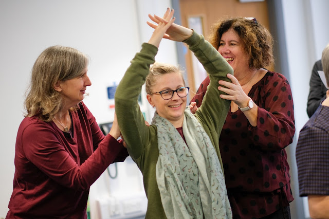 One of the workshops the Grand Theatre, Blackpool is putting on for other professionals/theatres in relation to the creative learning programme with the Children's Theatre Partnership