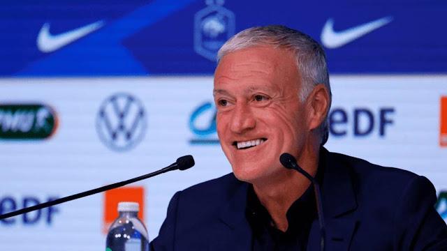 France coach Didier Deschamps