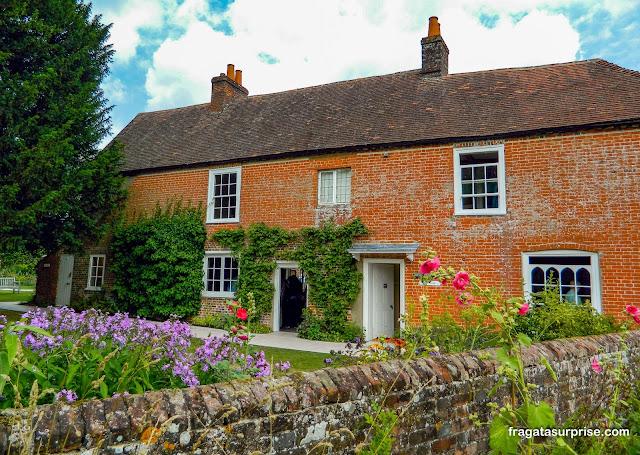 Casa de Jane Austen, Inglaterra