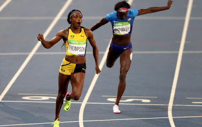 Jamaica's Elaine Thompson adds 200m Title to 100m Gold