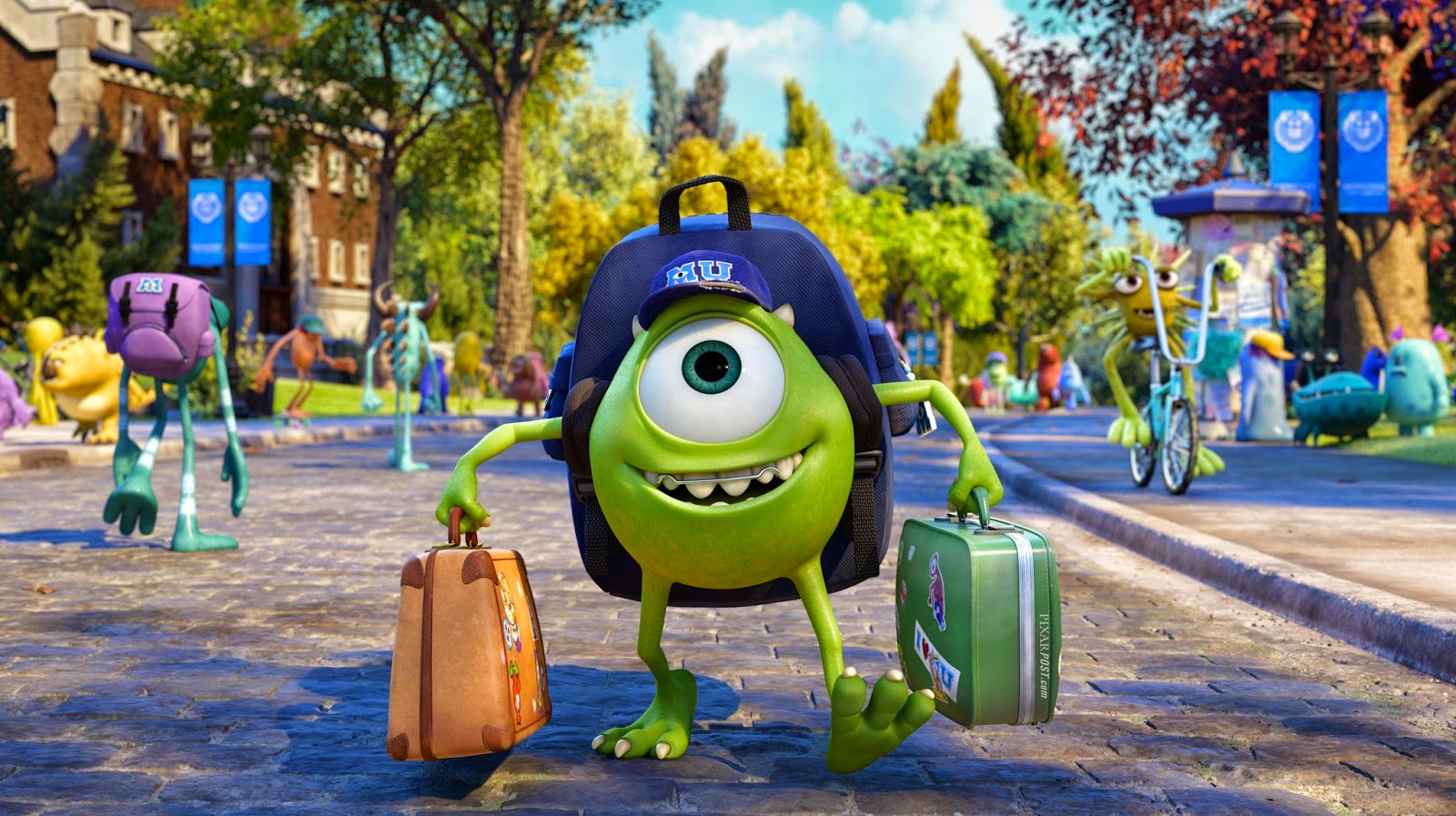 Monsters University Baseball Hat Returns To The Disney Store Pixar Post