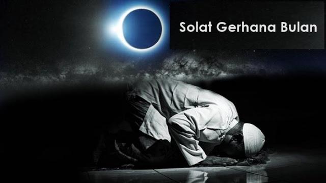 Niat Sholat Gerhana Bulan – Sholat Khusuf
