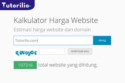 Cek Mudah Harga Jual Website Kita