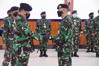Jabatan strategis tersebut yaitu Danlanudal Matak yang resmi dijabat oleh Mayor Laut (P) Agus Bakhrudin